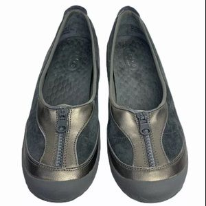 Privo By Clarks Loafer Flat Comfort Suede Leather